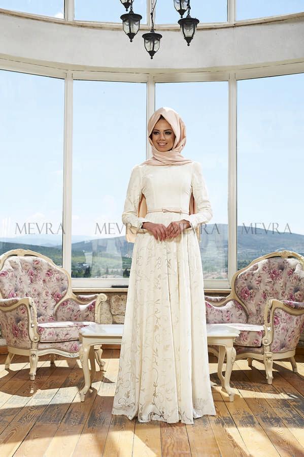 Mevra Abiye - Rüya Elbise Ekru