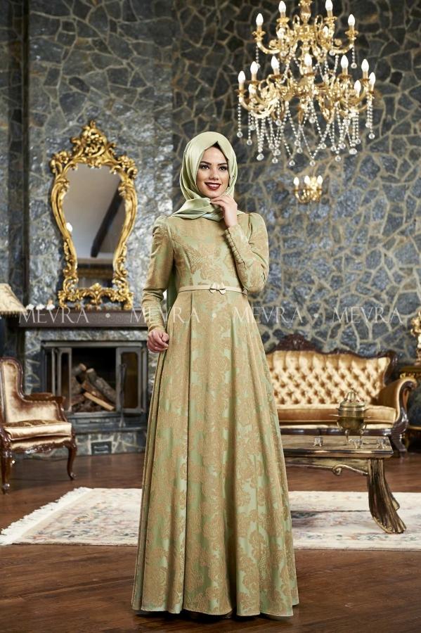 Mevra - Handan Abiye Elbise Çağla