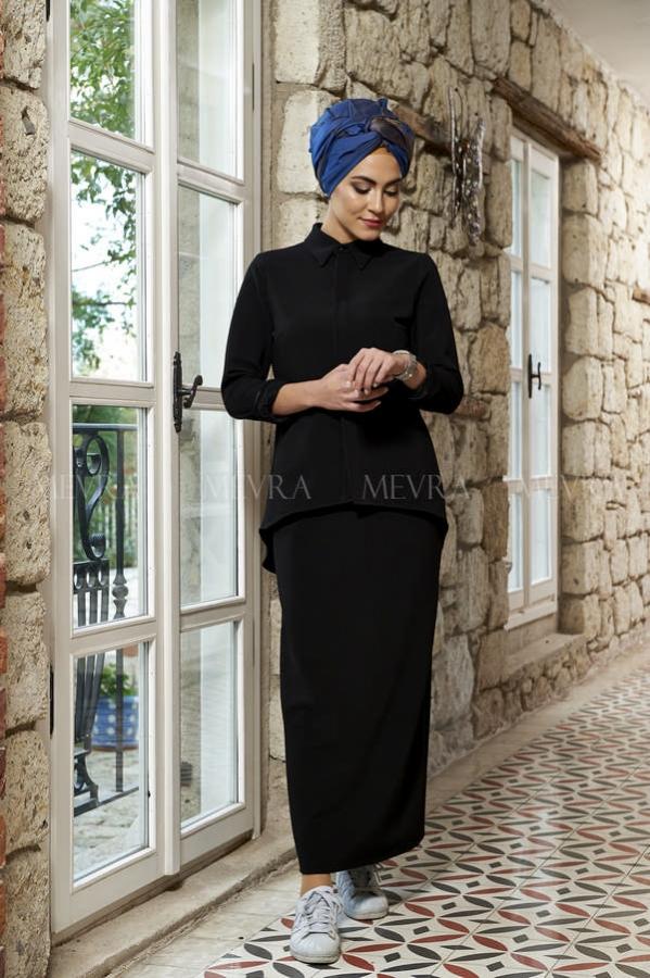 Mevra - Jade Tunik Siyah