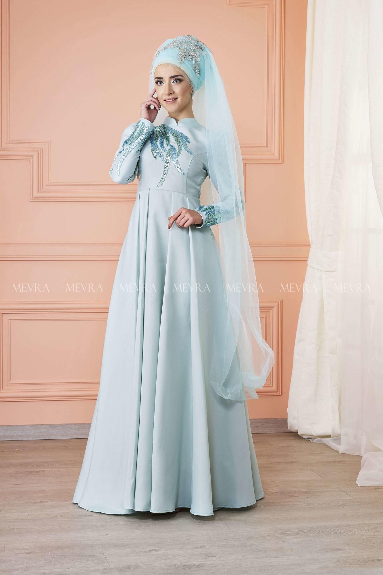 Mevra - Kavin Abiye Elbise Mint