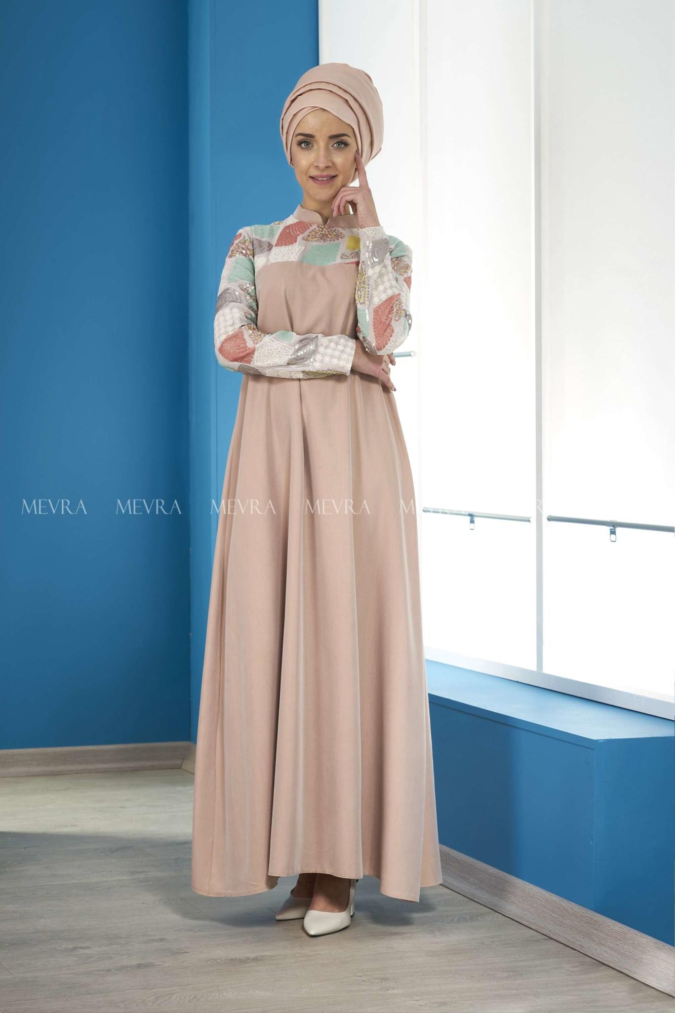 Mevra - Marin Elbise Somon