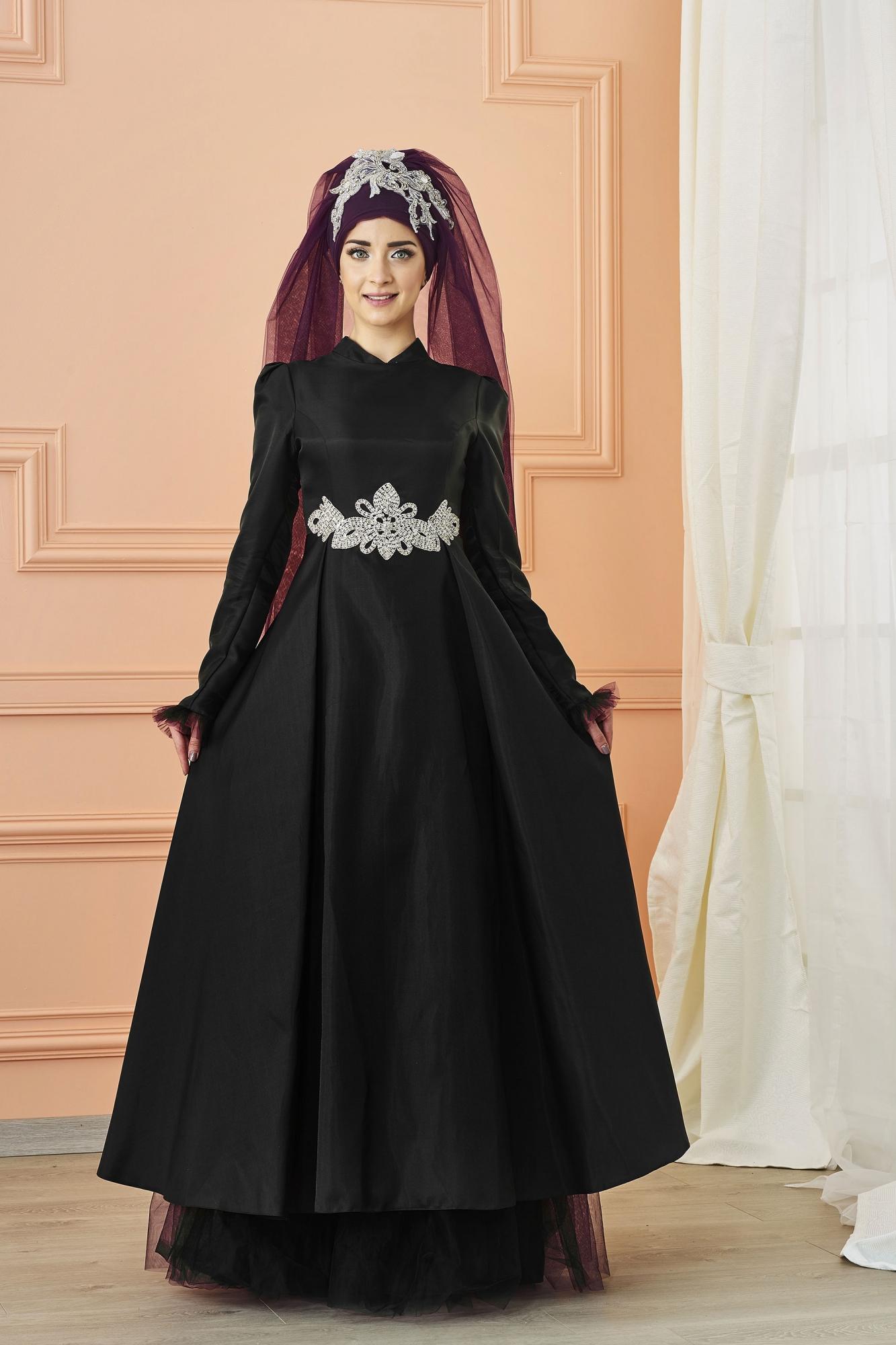 Mevra - Sima Abiye Elbise Siyah