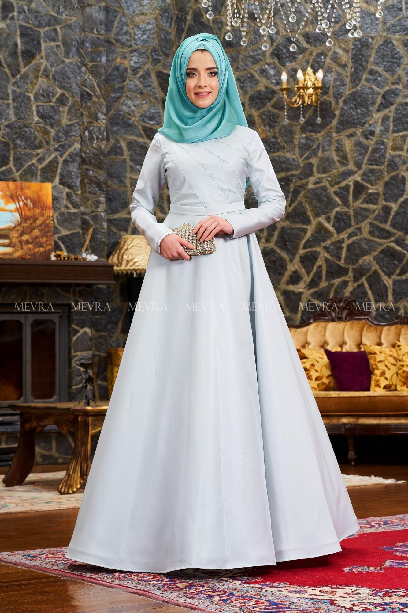 Mevra - Uyum Abiye Elbise Mint