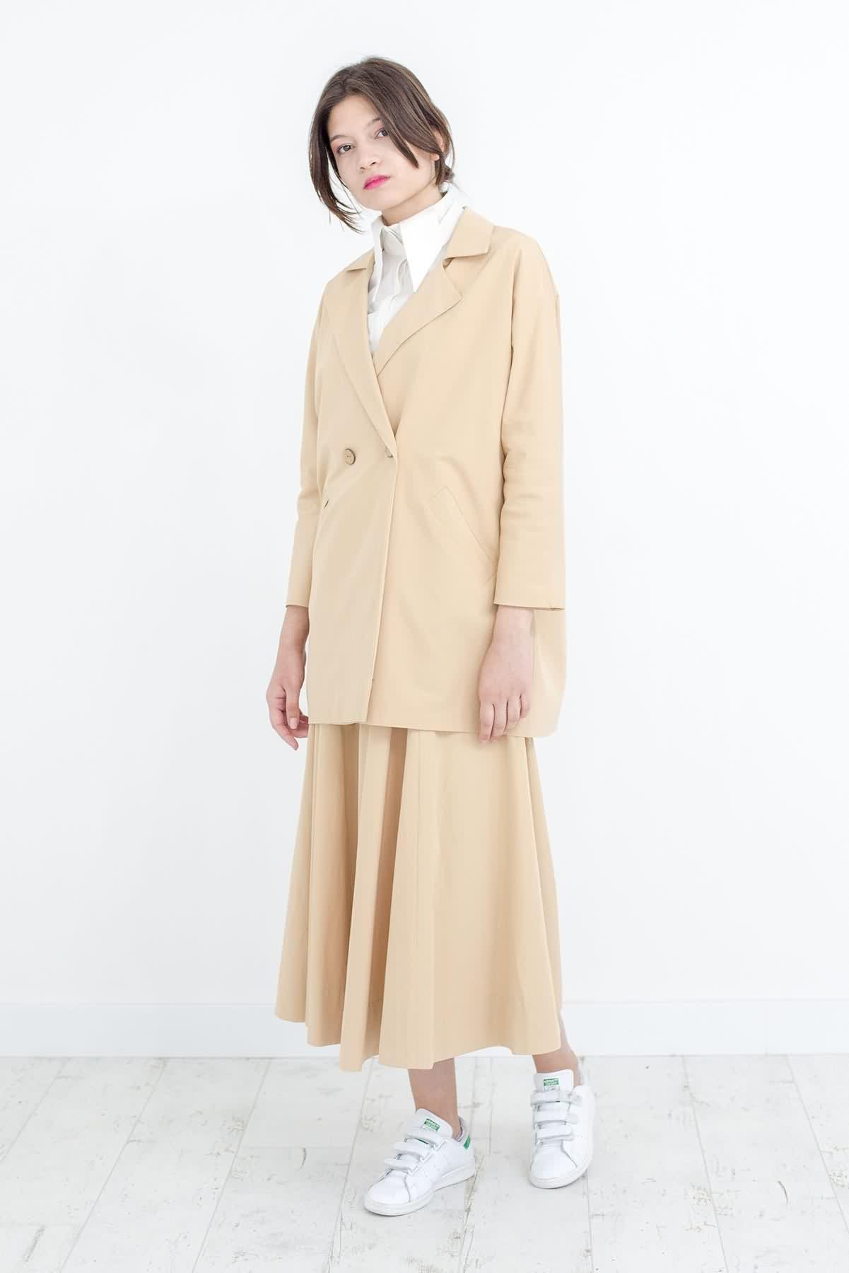 Mevra - Blazer Ceket Bej
