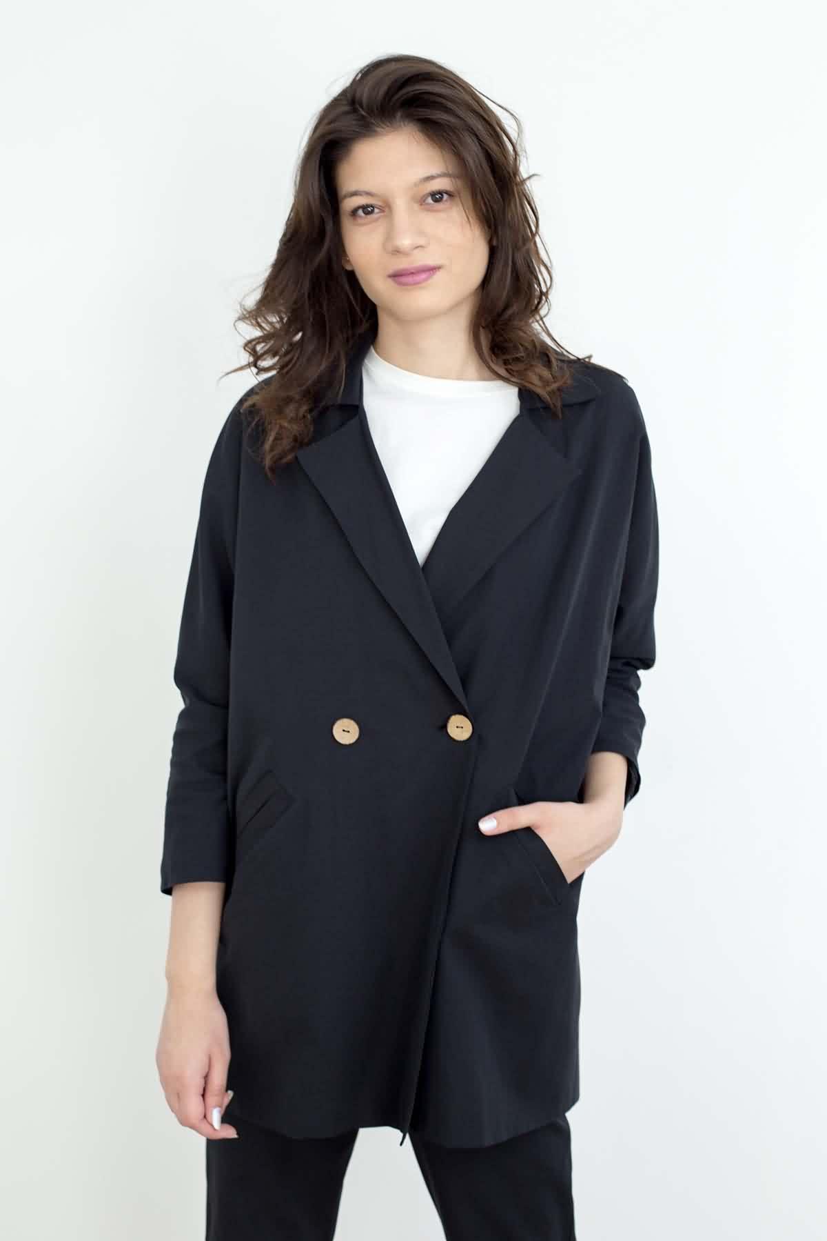 Mevra - Blazer Ceket Siyah