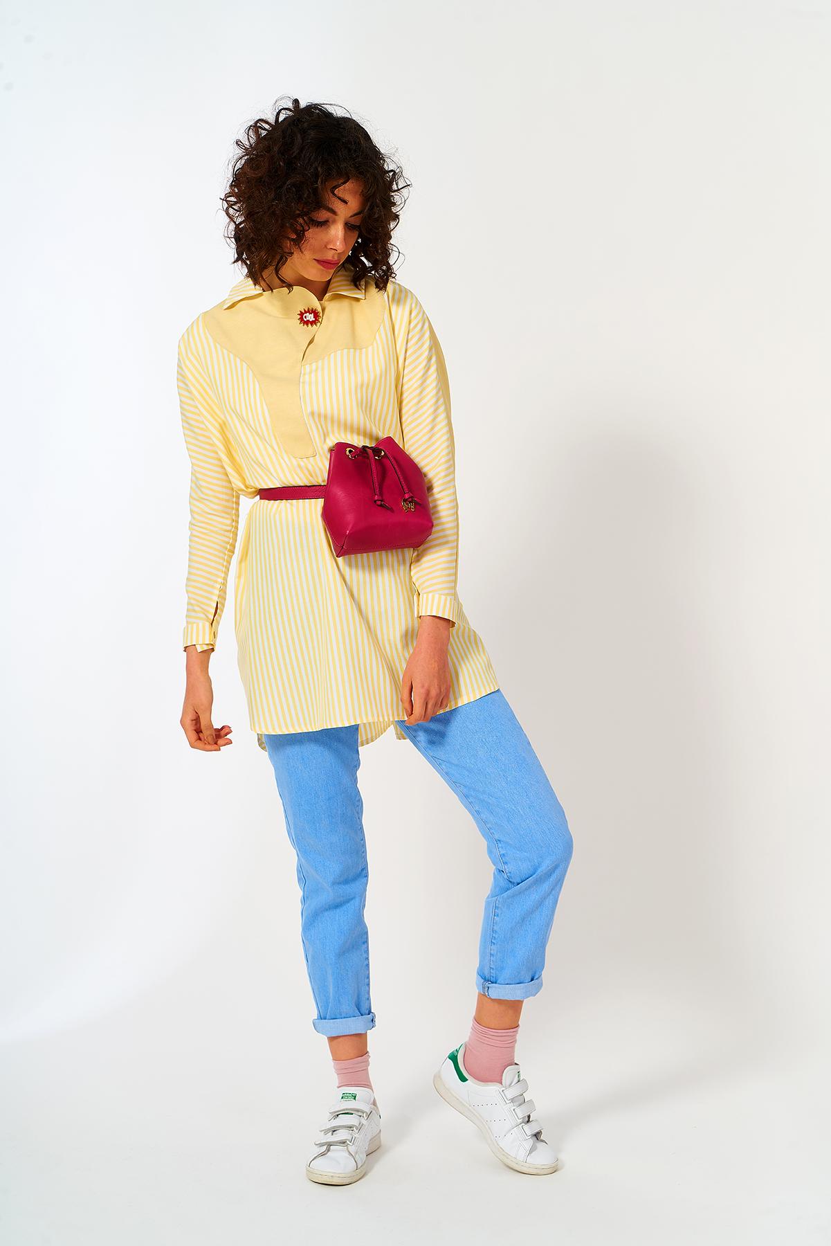 Mevra - Cool Tunik Sarı