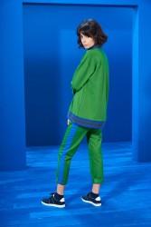 İnterest Sweatshirt Yeşil - Thumbnail