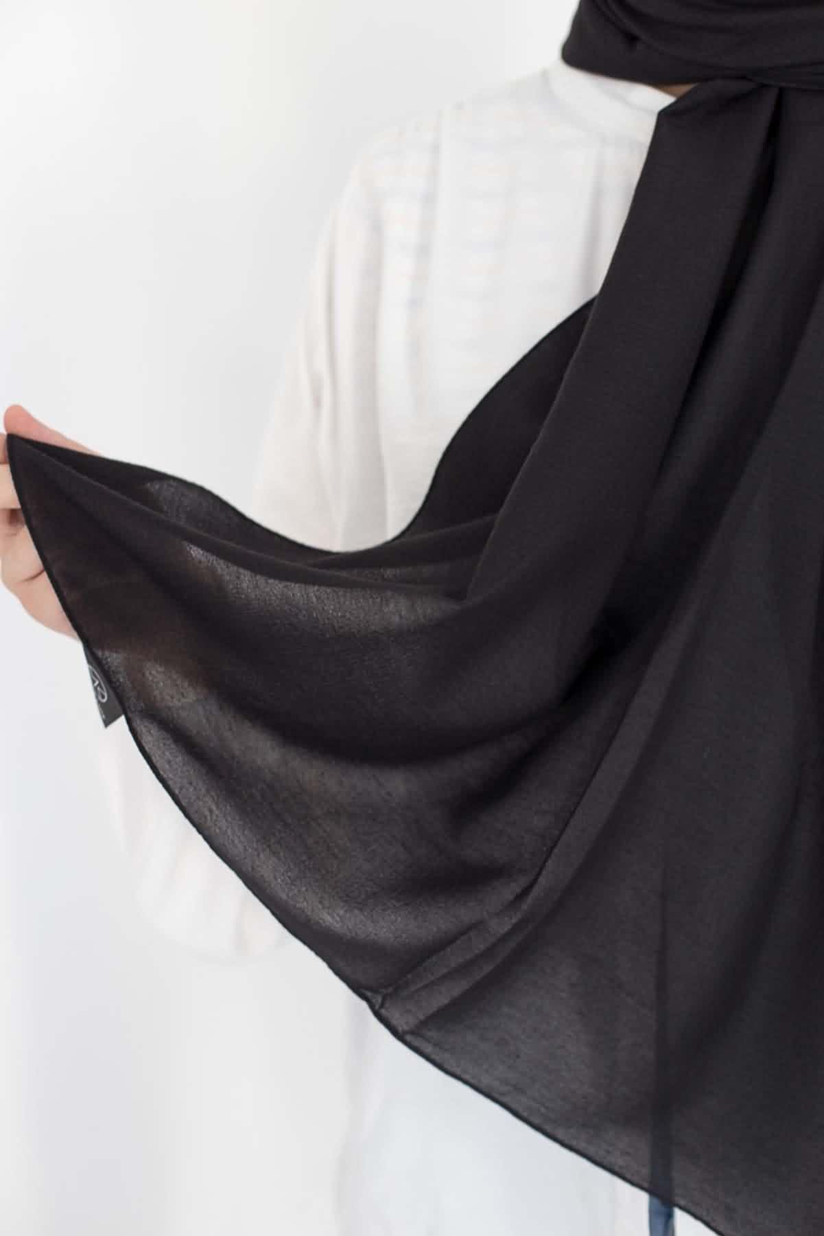 Mevra - Mio Caz Şal Siyah