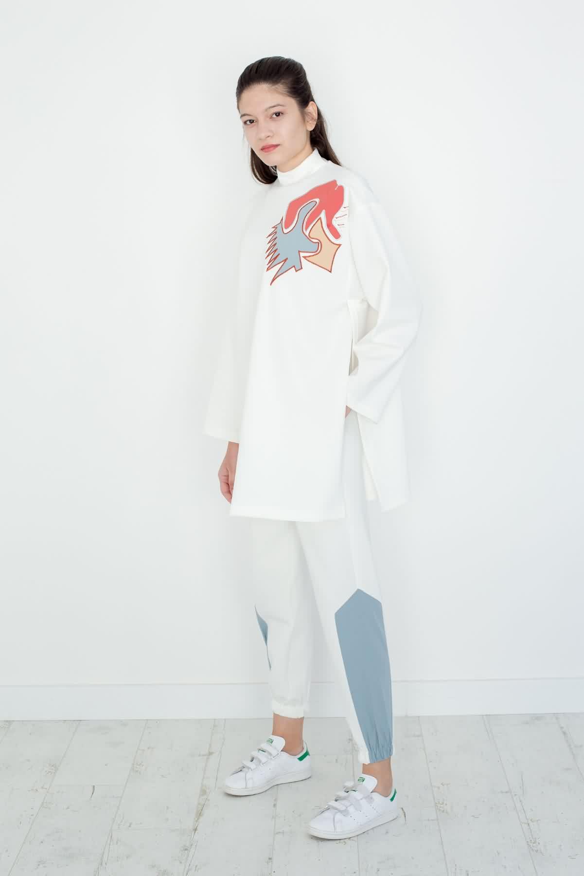 Mevra - Nakışlı Sweatshirt