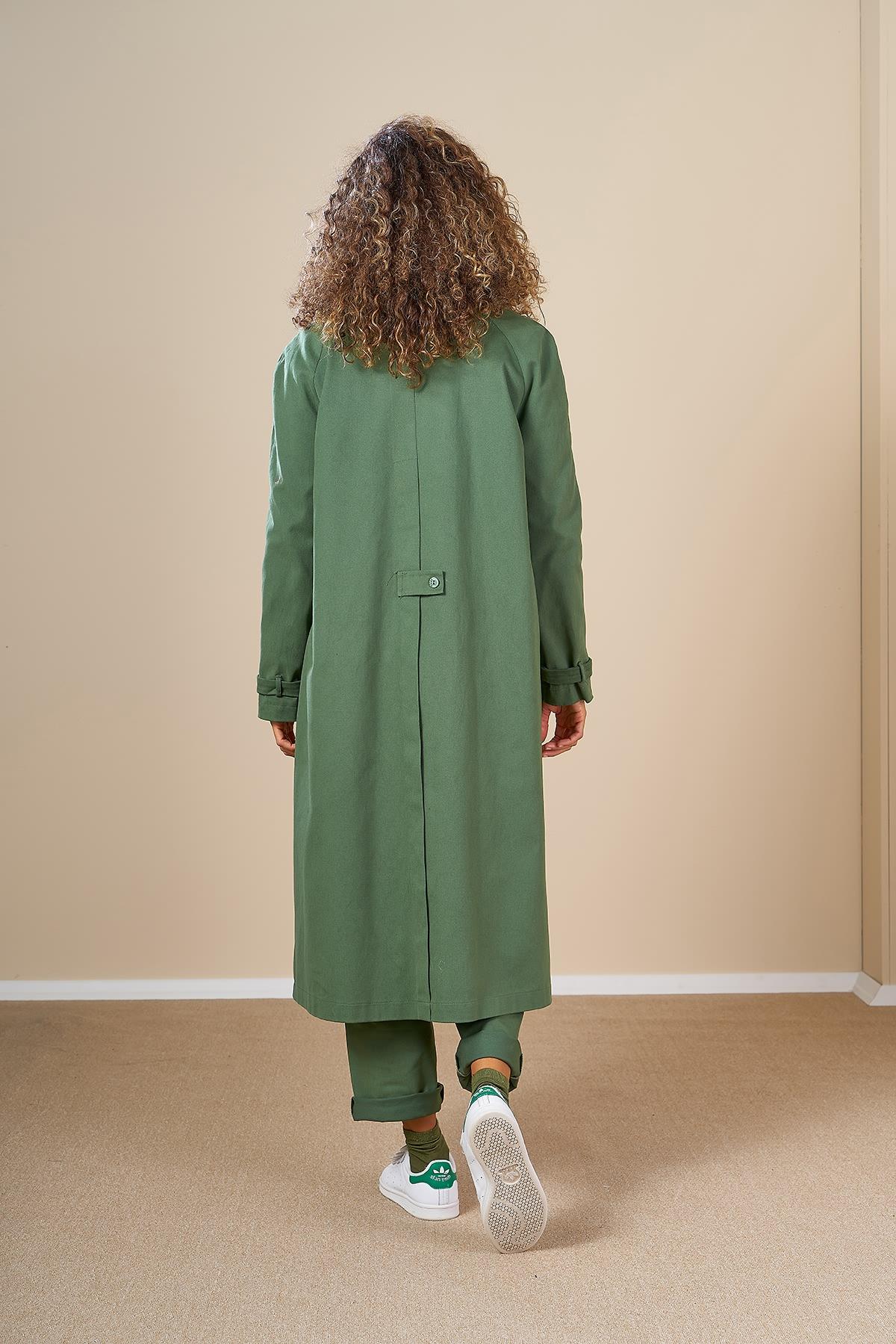 Mevra - Oversize Ceket Yeşil