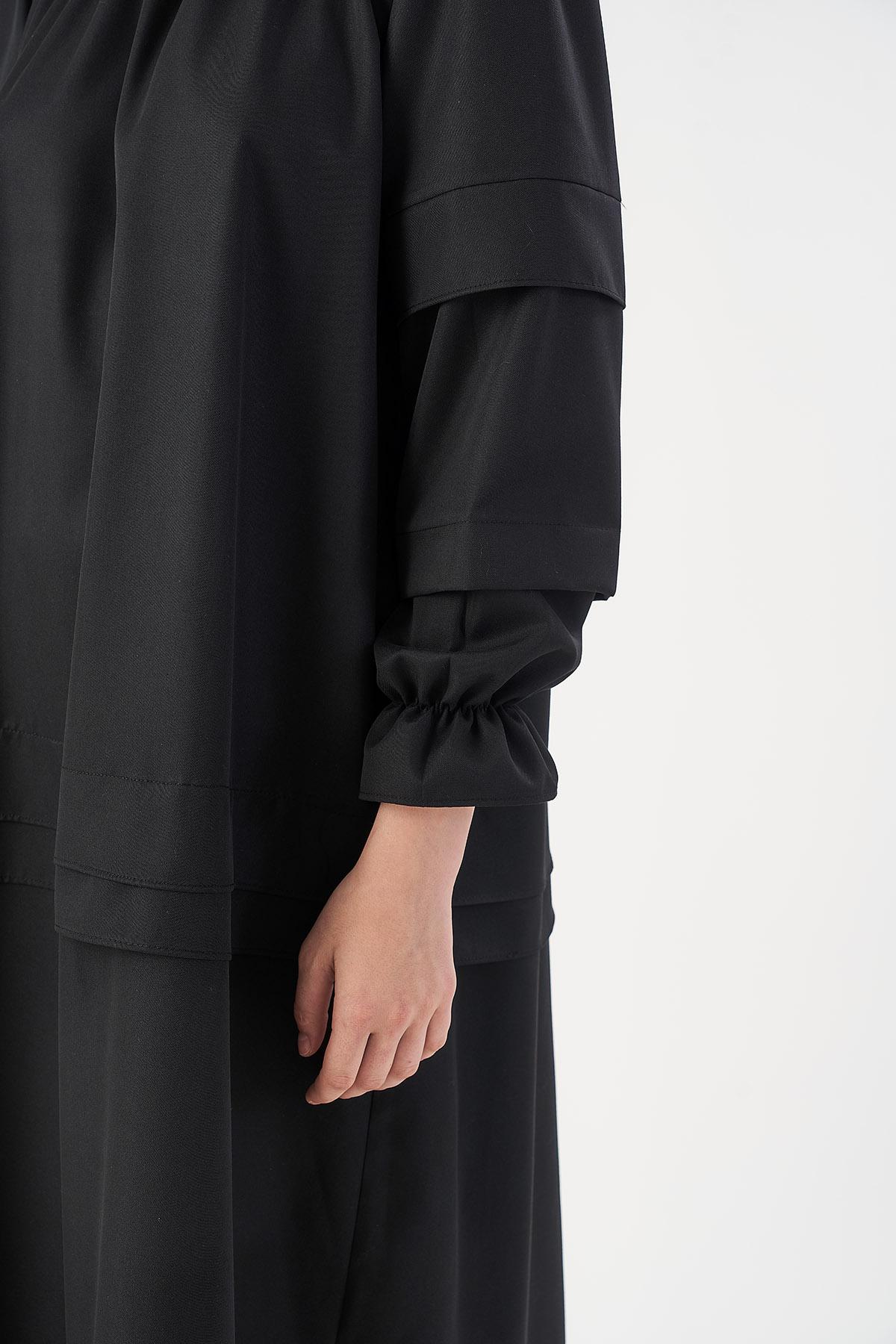 Mevra - Pera Elbise Siyah