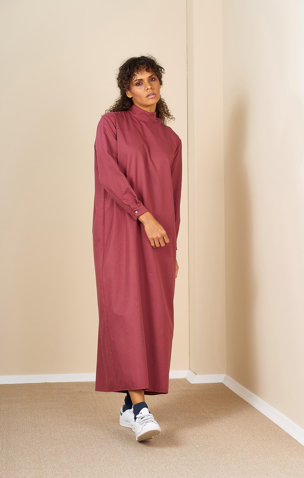 Mevra - Robalı Elbise Gülkurusu