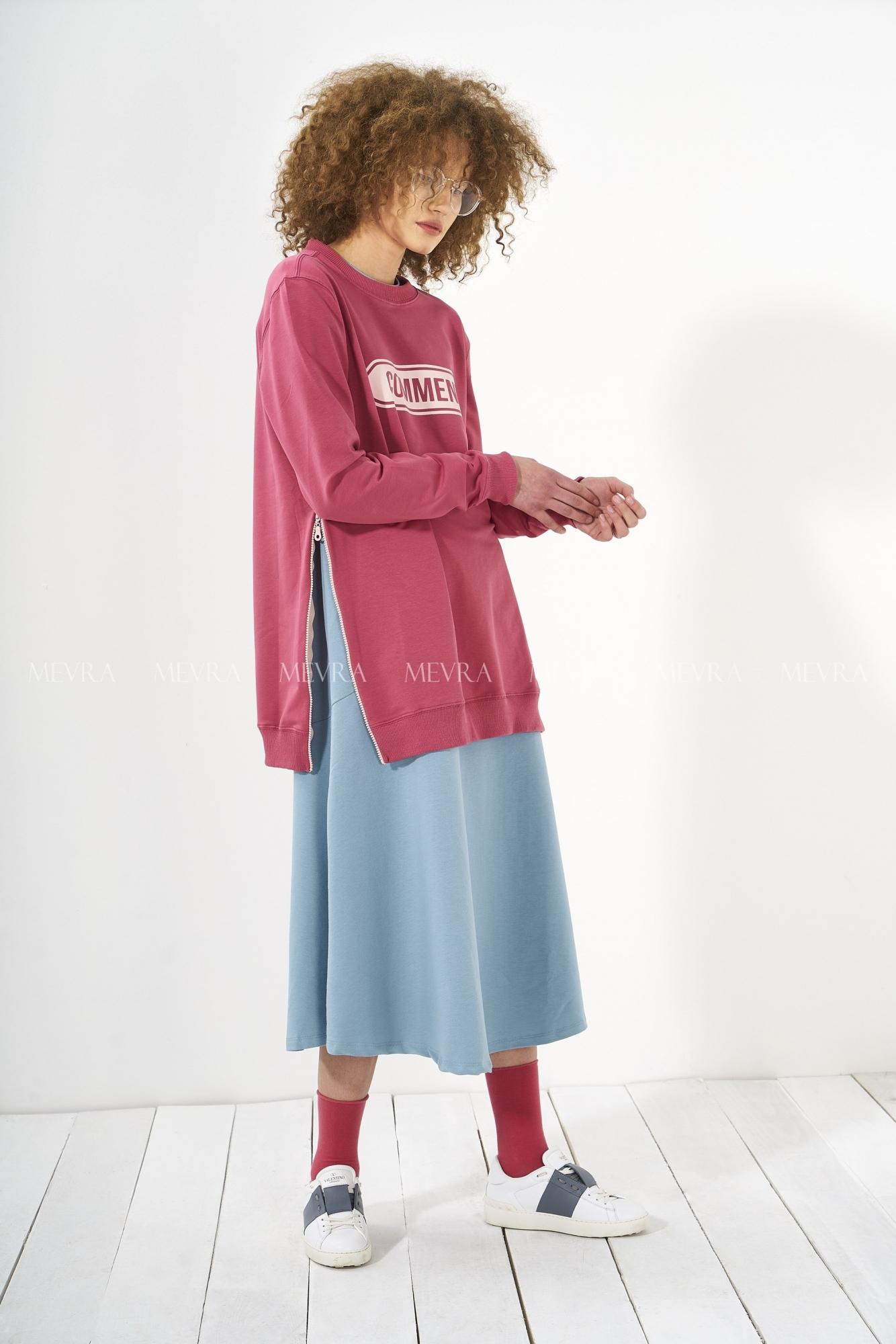 Mevra - Sweatshirt Gül Kurusu