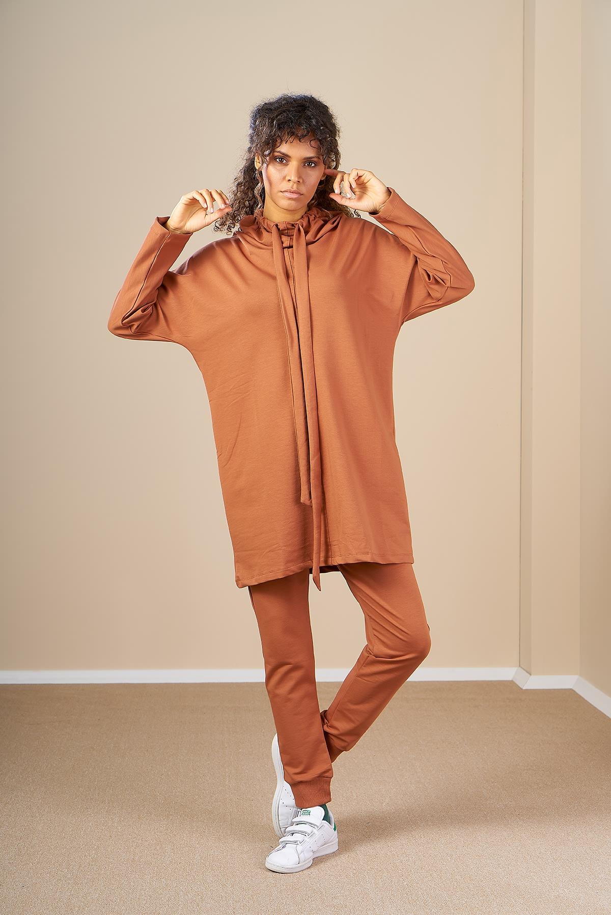 Mevra - Sweatshirt Tarçın