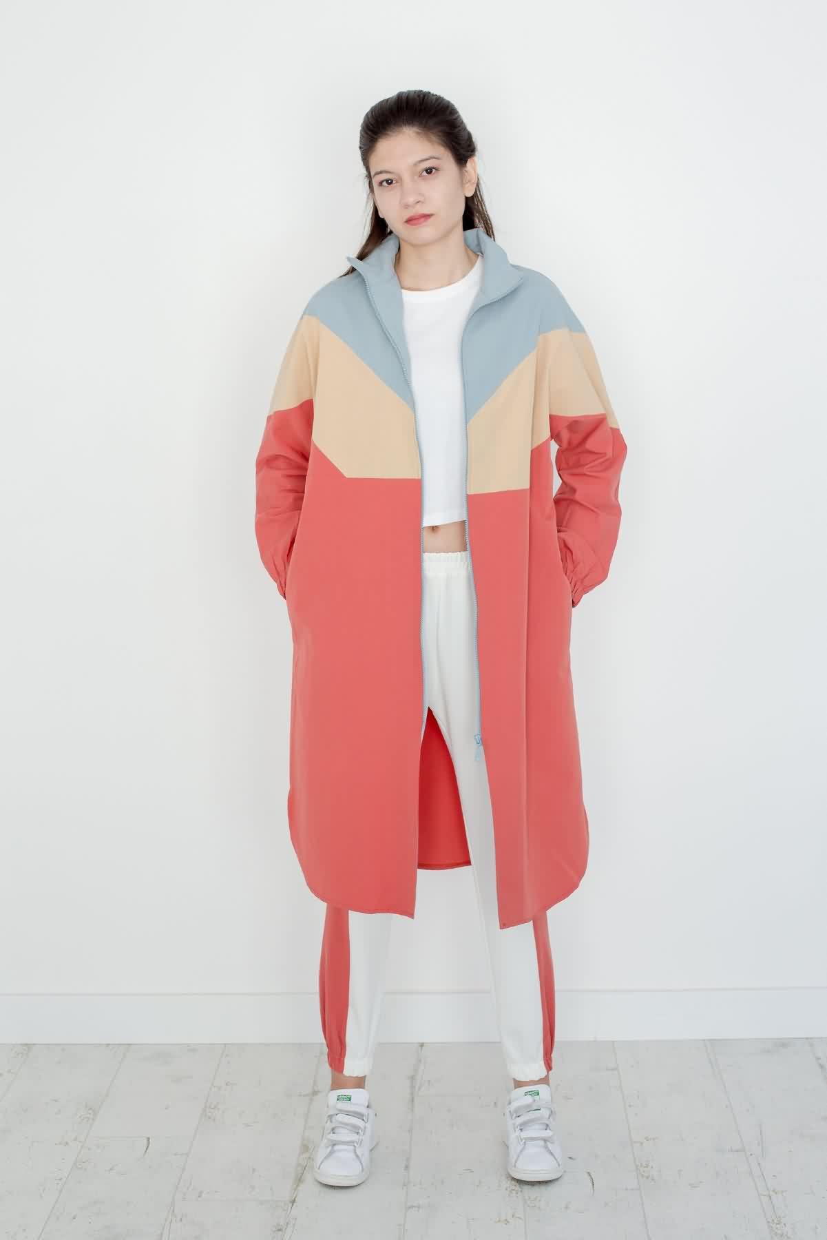 Uzun Blok Ceket