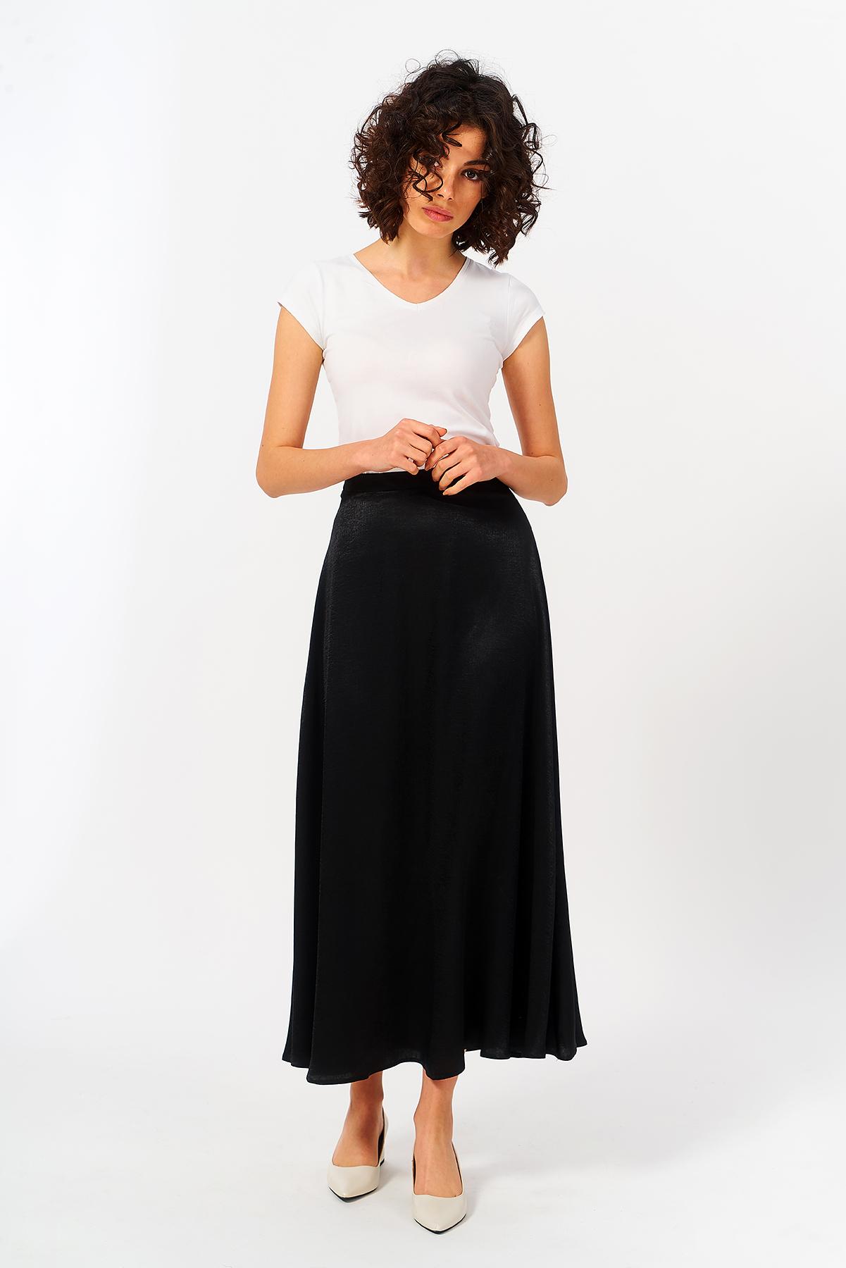 Mevra - Uzun Etek Siyah