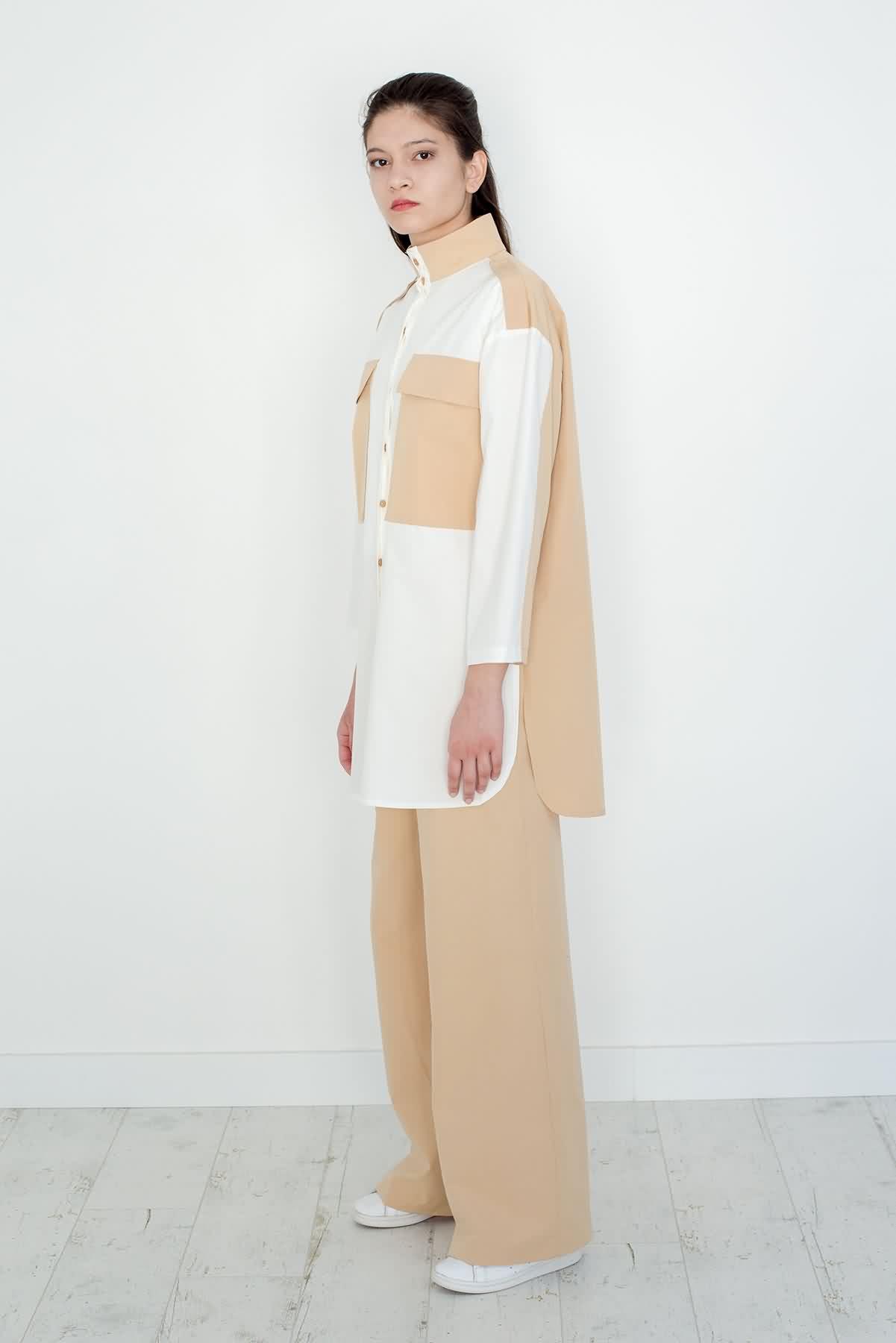 Mevra - Uzun Pantolon Bej
