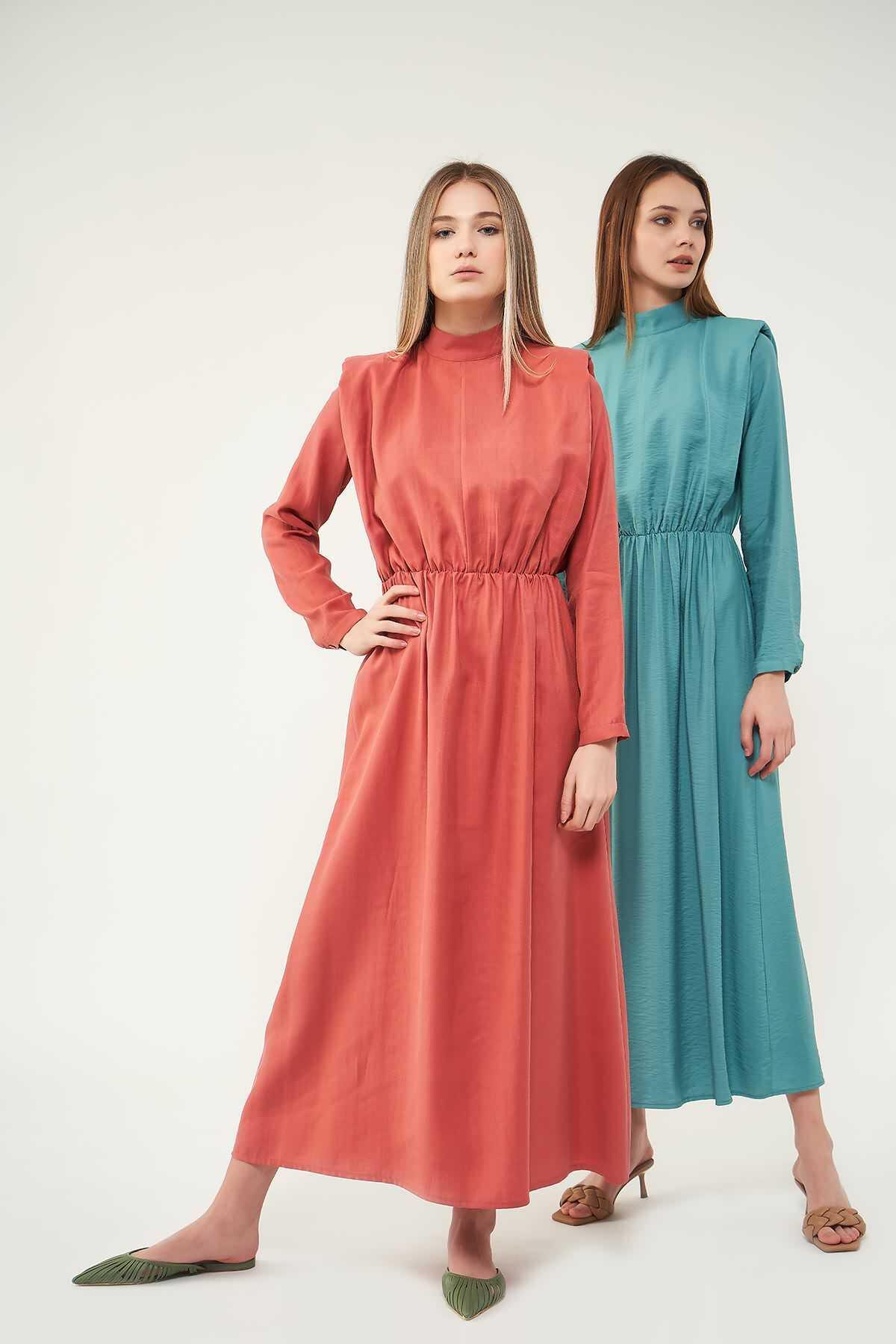 Vatkalı Elbise Pudra