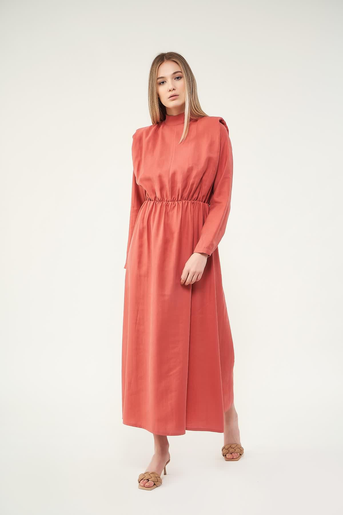 Vatkalı Elbise Pudra - Thumbnail
