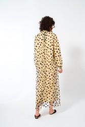 Yıldız Desen Tül Elbise - Thumbnail